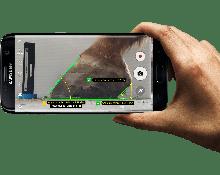 Metron-hoof floorcam voor het maken van de perfecte hoef-foto's