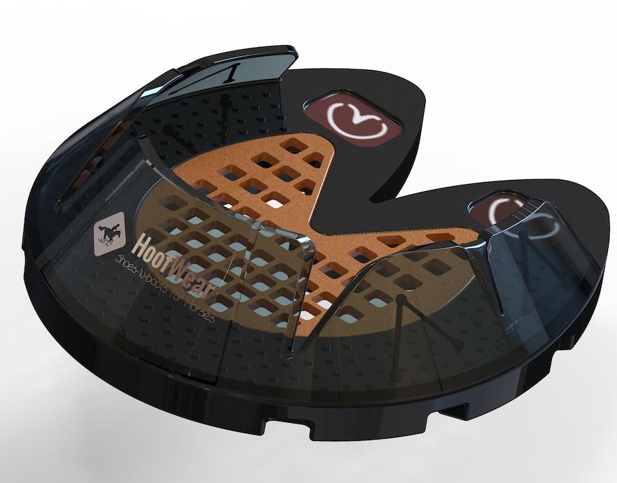 ontwerp 3D geprint hoefijzer