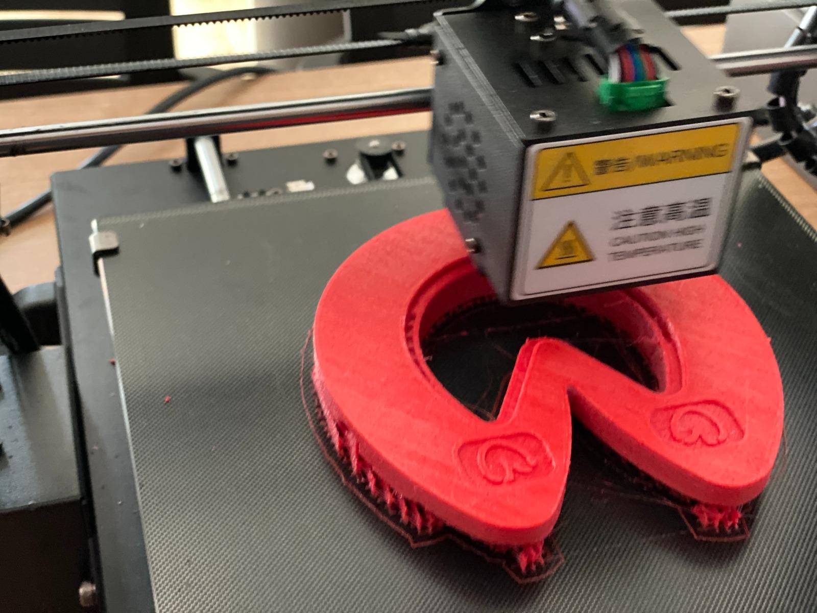 3D printen van een hoefijzer