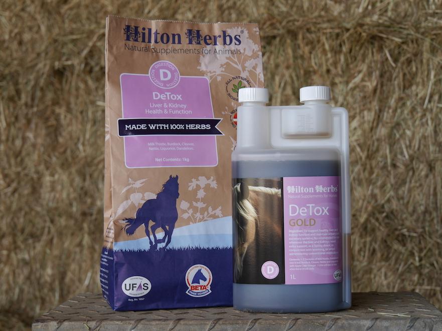 detox, reniging van het paardenlichaam bij hoefbevangenheid